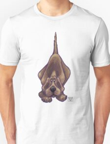 Animal Parade Hound Dog Silhouette Unisex T-Shirt