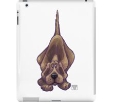 Animal Parade Hound Dog Silhouette iPad Case/Skin