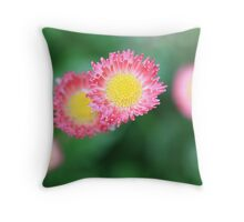 Be thankful for what you have. Be creative. Be innovative. Throw Pillow