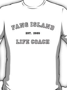 Fang Island Life Coach (Black) T-Shirt