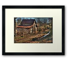 Country Roads Take me Home Framed Print