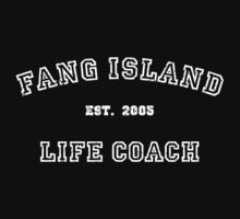 Fang Island Life Coach (White) Kids Clothes