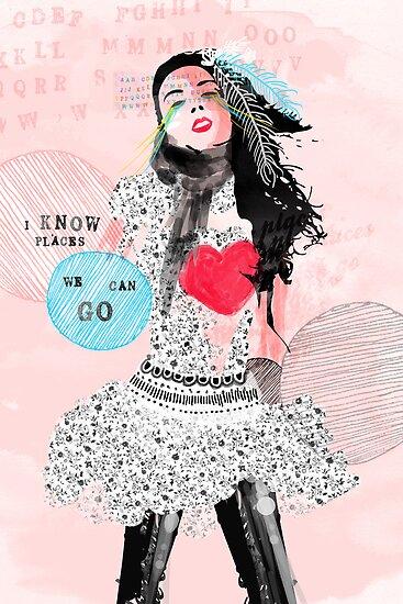 I Know Places by Tiffany Atkin