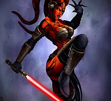 Darth Talon by mikekimart