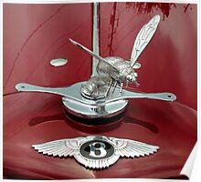 Bentley Bumblebee Mascot Poster