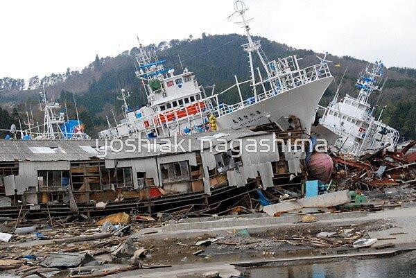 JAPAN  Earthquake, Tsunami scars (2) by yoshiaki nagashima