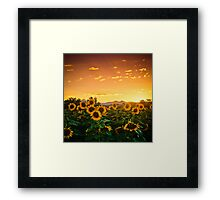 Heaven's Evening Framed Print