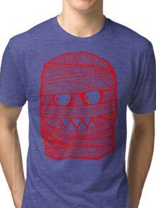 RED MUM T-SHIRT , CLASSIC LOGO#03 Tri-blend T-Shirt