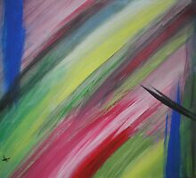 stripes by Oil Water Artt