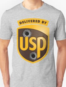 Delivered By USP (Official) Unisex T-Shirt