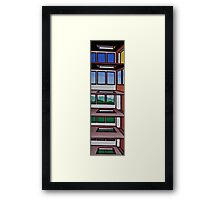 HIGHRISE IN THE BERKSHIRES Framed Print