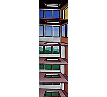 HIGHRISE IN THE BERKSHIRES Photographic Print