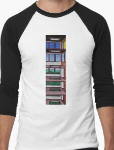 HIGHRISE IN THE BERKSHIRES Men's Baseball ¾ T-Shirt