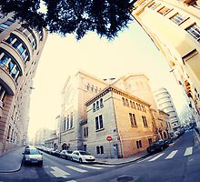 France Fisheye street by Shootin