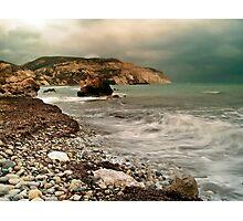 Aphrodite's Beach Photographic Print
