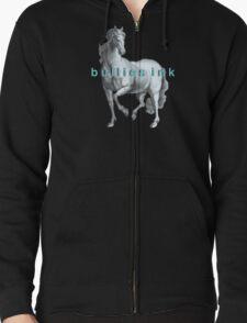 horse Zipped Hoodie