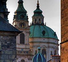 Church of St. Nicholas, Prague by Stepan Lorenc