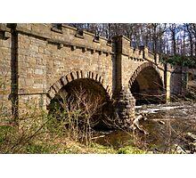 Almondell Bridge Photographic Print