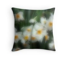Daffodil Surprise Throw Pillow