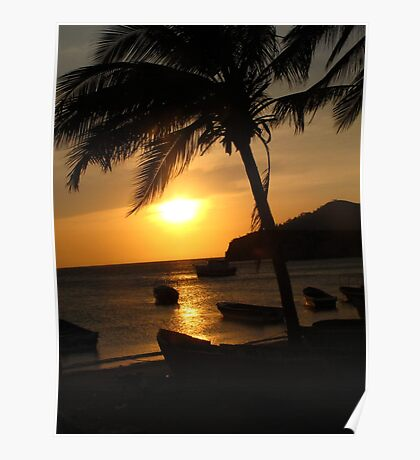 Taganga Sunset Poster