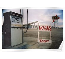 No Gas Today Poster