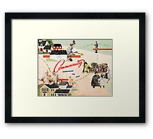 Community, Everything You Want Framed Print