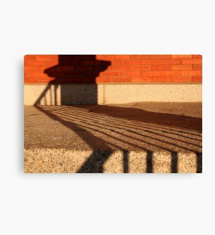 Shadow Patterns Canvas Print
