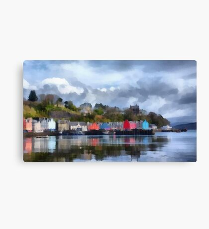 Tobermory, Mull Canvas Print