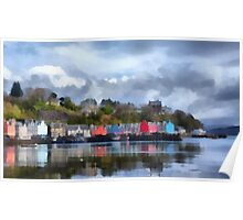 Tobermory, Mull Poster
