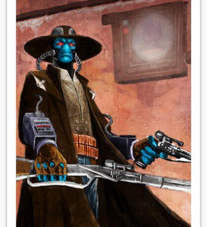 Star wars Bounty Hunter Cad Bane Sticker