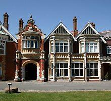 Bletchley Park Mansion by John Gaffen