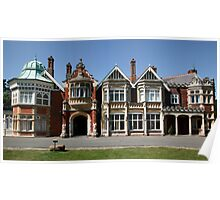 Bletchley Park Mansion Poster