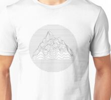 Mountain lines Unisex T-Shirt