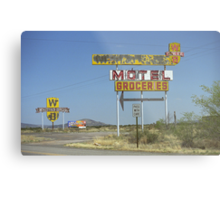 Route 66 - New Mexico Whiting Brothers Gas Metal Print