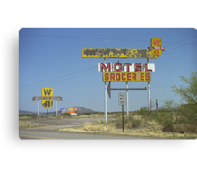 Route 66 - New Mexico Whiting Brothers Gas Canvas Print