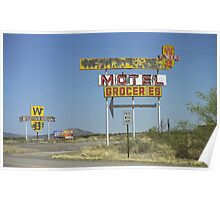 Route 66 - New Mexico Whiting Brothers Gas Poster
