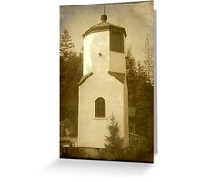 Door County, WI-Lighthouse ©  Greeting Card