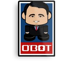 Scott Walker Politico'bot Toy Robot 2.0 Metal Print