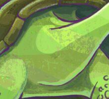 Tortoise Silhouette Sticker