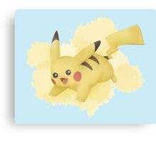 Pokemon - Pikachu Canvas Print