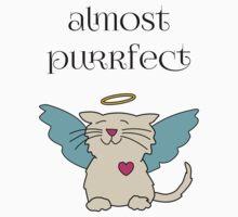 Almost Purrfect Angel Kitten One Piece - Short Sleeve