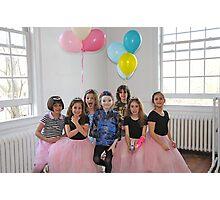Birthday Dance Party Photographic Print