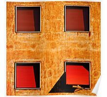 Four windows Poster