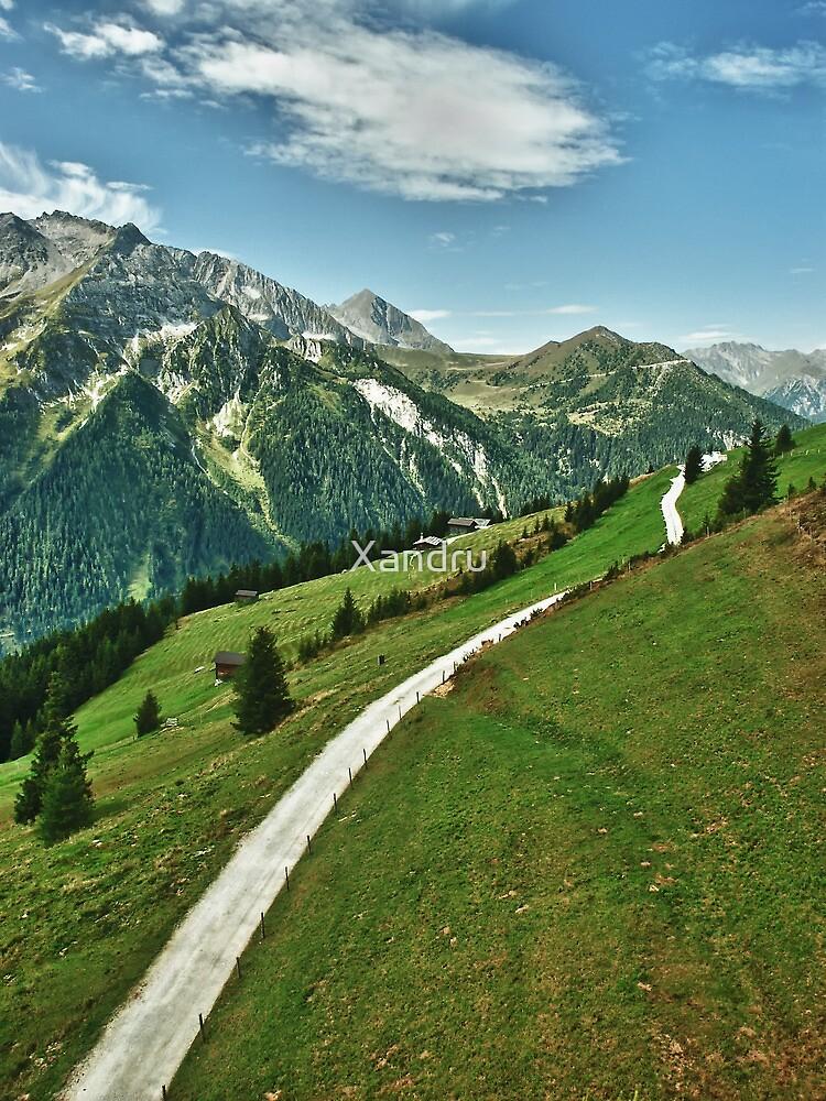 Hiking in Tirol by Xandru