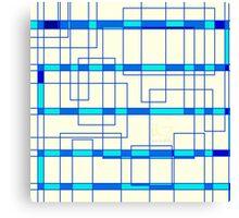 Geometrical electrical Canvas Print