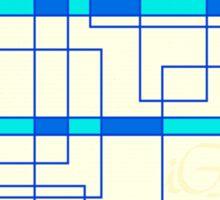 Geometrical electrical Sticker