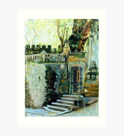 Inside Sintra Art Print