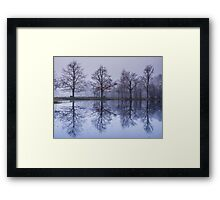 the four brothers Framed Print