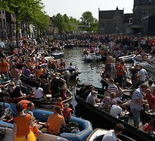 30-4-2011 in Alkmaar by dominiquelandau