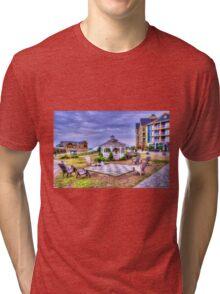 Gazebo at Blue Mountain  Tri-blend T-Shirt